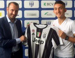 Andi Zeqiri alla Juventus