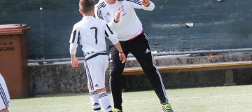 Esordienti 2005, allenatore Matteo Scarpa