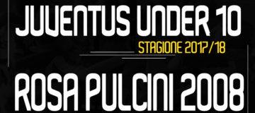 Rosa Pulcini 2008 Under10 Juventus 2017/18