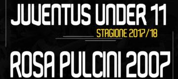 Rosa Pulcini 2007 Under11 Juventus 2017/18