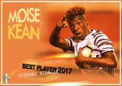 Moise KEAN Giovani Bianconeri – Best Player 2017