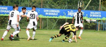 Amichevole, Juventus Primavera - Comano Terme