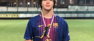 Pablo Moreno, Juventus giovanili