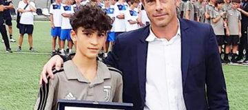 Premiazioni Premio Top Player Juventus Adam Boufandar