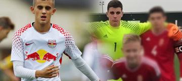 Ervin Omic e Zsombor Senkó alla Juventus
