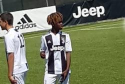 Alan Kean, Juventus giovanili