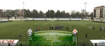 Campionato Primavera, Juventus-Fiorentina 2-3
