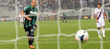 Domenico Berardi, gol al Parma