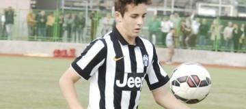 Fabrizio Caligara, centrocampista Giovanissimi Nazionali Juventus