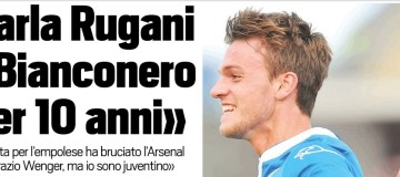 Rugani, intervista Tuttosport