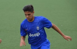 Gianluca Sbordone, attaccante Giovanissimi Nazionali Juventus