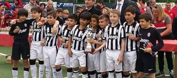 Pulcini 2005 Juventus al Memorial Scirea