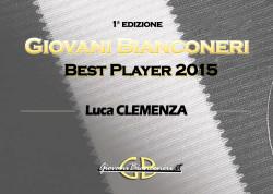 Giovani Bianconeri – Best Player 2015