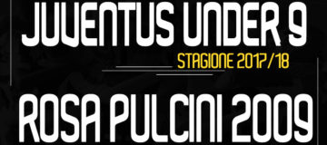 Rosa Pulcini 2009 Under9 Juventus 2017/18