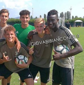 Kevin Monzialo, Juventus giovanili