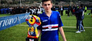 Lorenzo Anghelè, Juventus e Sampdoria giovanili