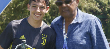 Alessio Vacca, Juventus giovanili