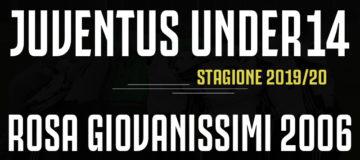 Rosa Giovanissimi 2006 Juventus Under14