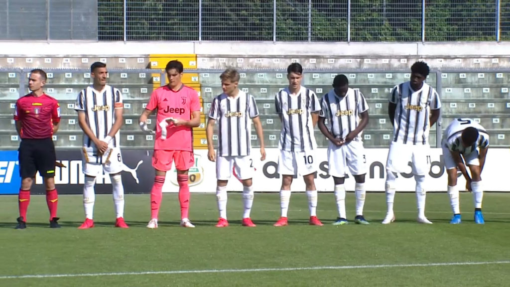 Primavera, Sassuolo-Juventus 1-1